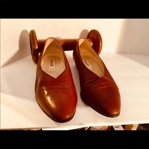 Bally Leather flats